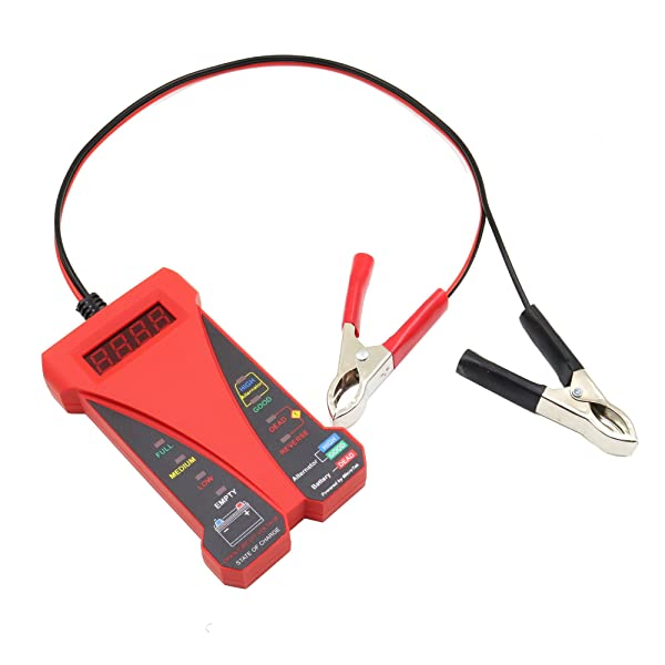 MOTOPOWER MP0514C 12V Battery Tester.