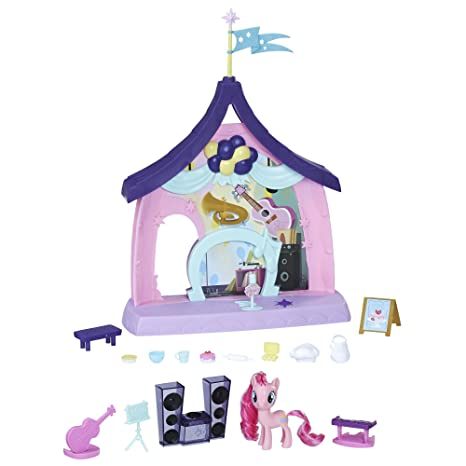 My Little Pony Beats and Treats Magical Classroom Doll Playset Doll Playsets at amazon