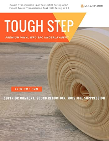 Premium Underlayment For Floating Vinyl Wpc Spc Flooring Sound Test