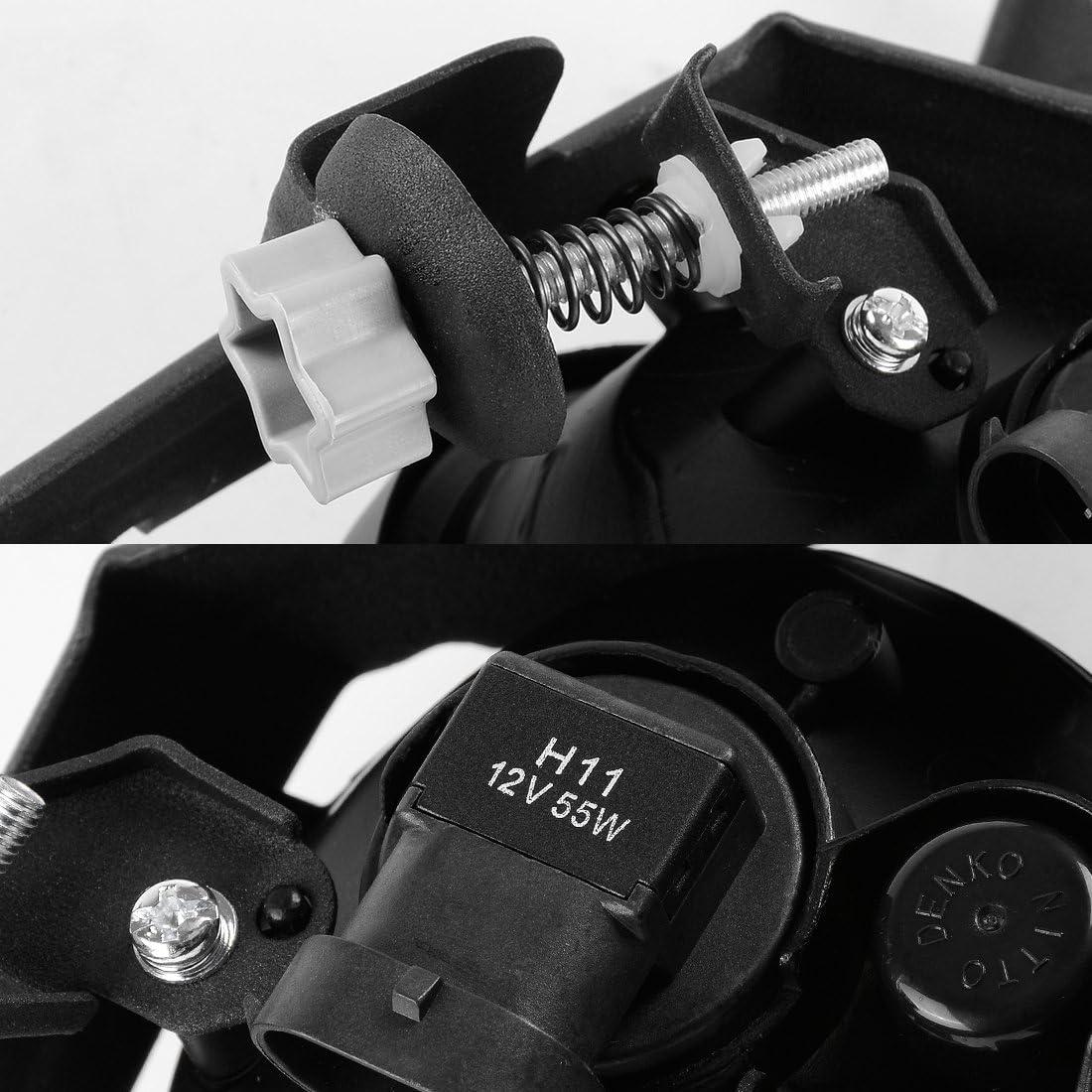 Clear Lens with Bulbs /& Wiring Harness Fog Lights For Honda CRV 2007 2008 2009