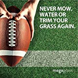 Mega Grass 28''W x 40''L Artificial Grass for Lawn & Landscaping Outdoor or Indoor Green Faux Fake Grass Decor |8 SqFt 1.88'' Tall Blades 92oz Face | Realistic Artificial Grass Mat Rug Pad Carpet Turf
