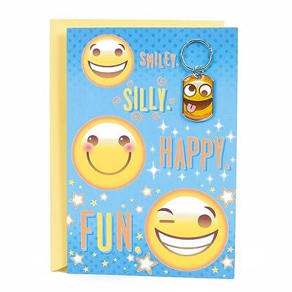 Amazon Hallmark Birthday Greeting Card For Kids Emoji