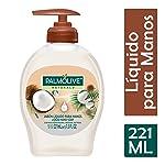 Palmolive Naturals Jabón de Tocador, Coco y Algodón Líquido para Manos, 221 ml