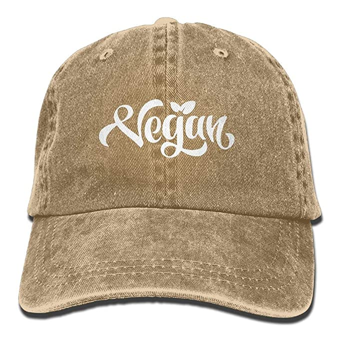 3aa3f2311ed64 Amazon.com  2018 Adult Fashion Cotton Denim Baseball Cap Vegan ...