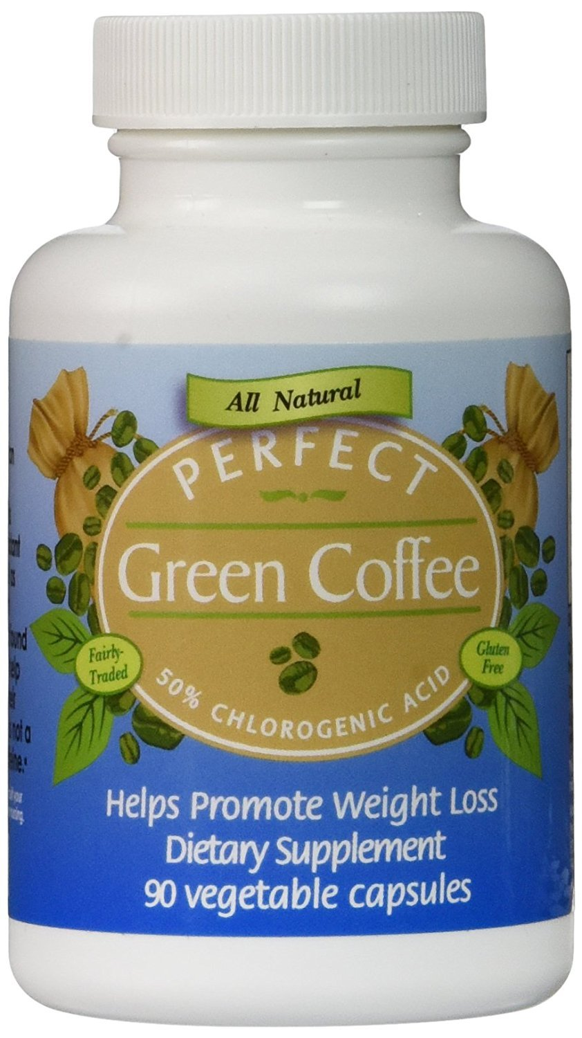 Perfect Green Coffee, 90 Count, 400mg, 2 Pack