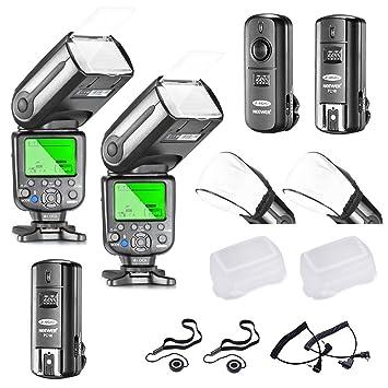 Neewer, NW565EX E-TTL, Slave Flash Speedlite Kit para Cámara Réflex Digital de Canon: Amazon.es: Electrónica