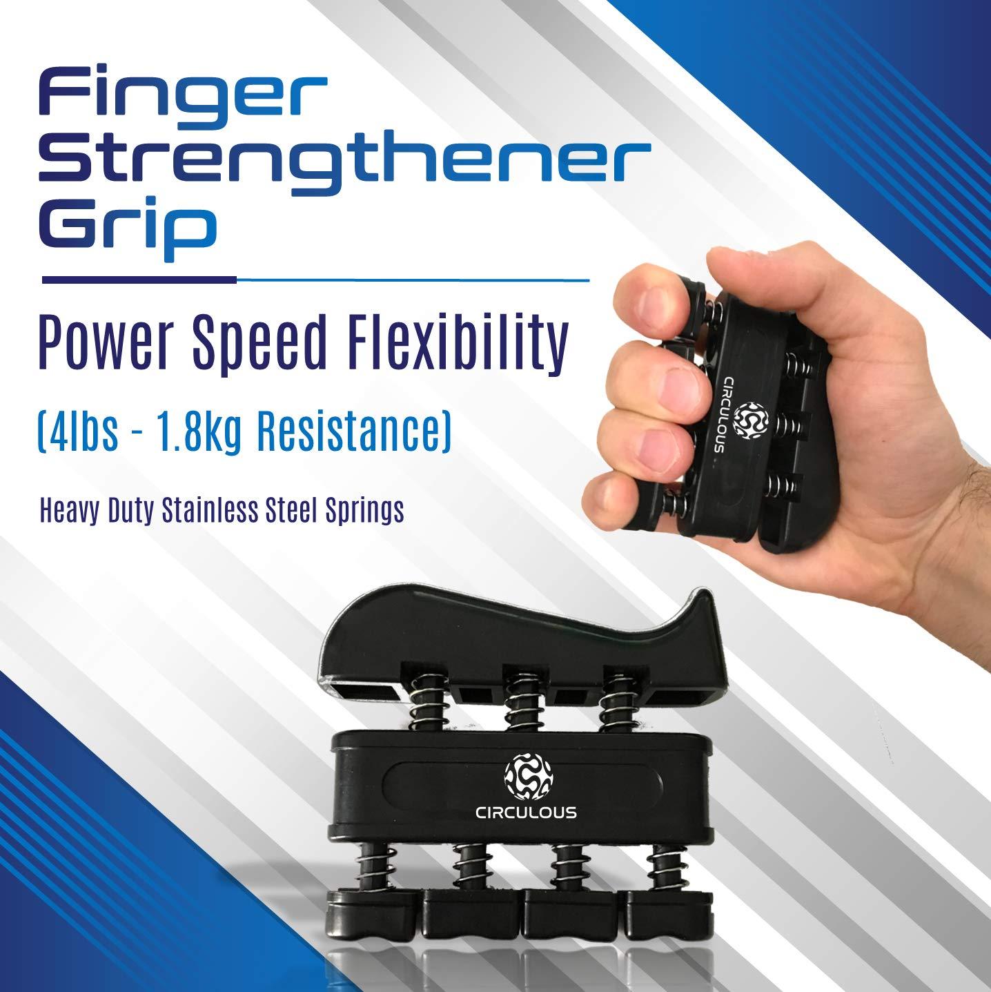 Kit de refuerzo de agarre de mano circular, agarre de muñeca, agarre de entrenamiento de fuerza de muñeca, equipo de fortalecimiento - agarre de ...