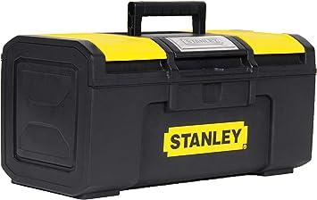 STANLEY 1-79-216 - Caja de herramientas con autocierre, 39.4 x 22 ...