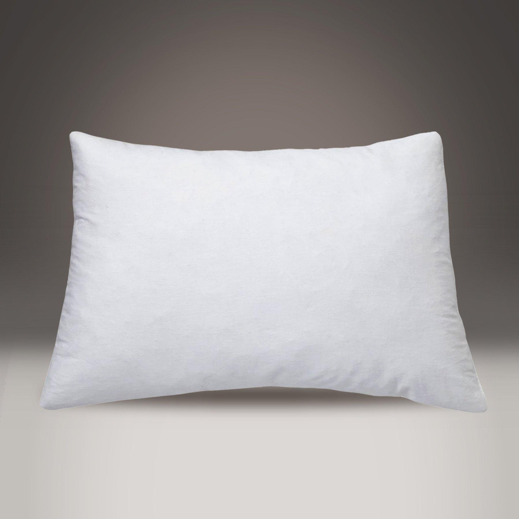 Luxurious Hungarian Goose Down Chamber Pillow. 700+ fill power, 100% cotton batiste casing