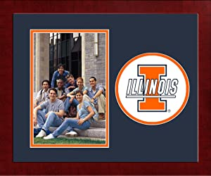 Campus Images NCAA Illinois Illini University Spirit Photo Frame (Vertical)