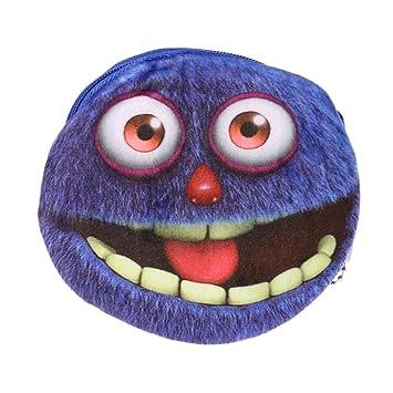 Kintrade Netter Karikatur 3d Großes Augen Monster Plüsch Damen