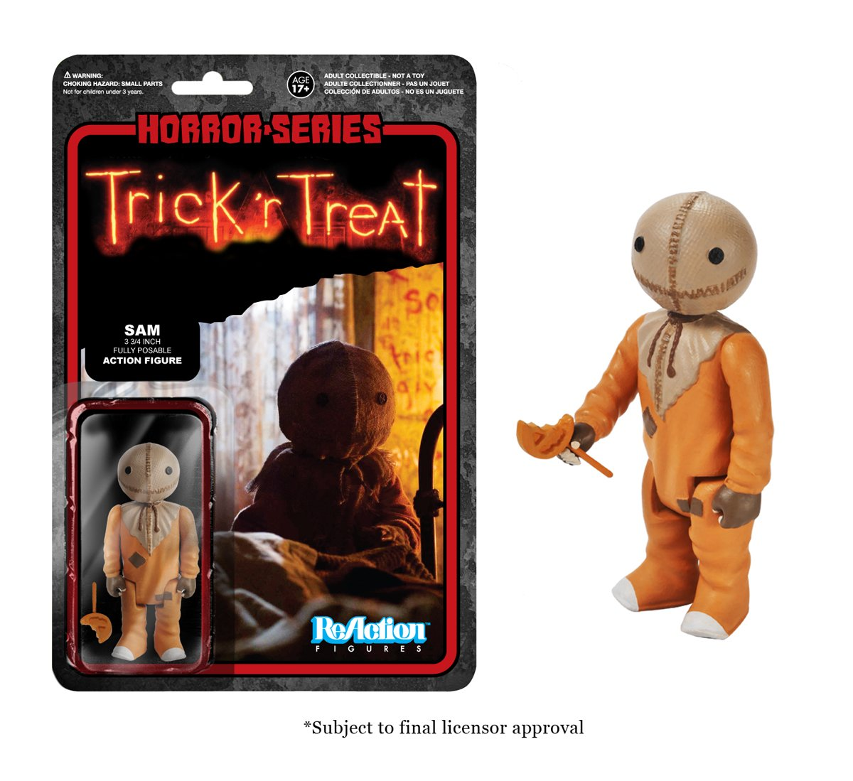 Sam (Trick 'r Treat) Funko ReAction Figure 3 3 4 Inch