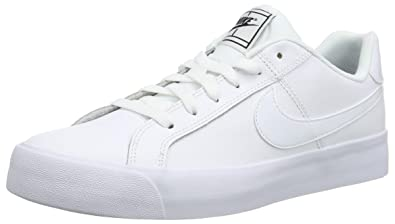 sale retailer 02c6b 91eac Nike Women s Court Royale Ac Fitness Shoes, White Black 102, 3 UK   Amazon.co.uk  Shoes   Bags