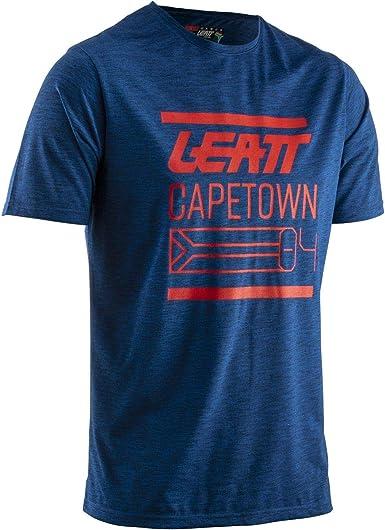 Leatt Core Royal - Camiseta de manga corta azul S: Amazon.es: Ropa y accesorios