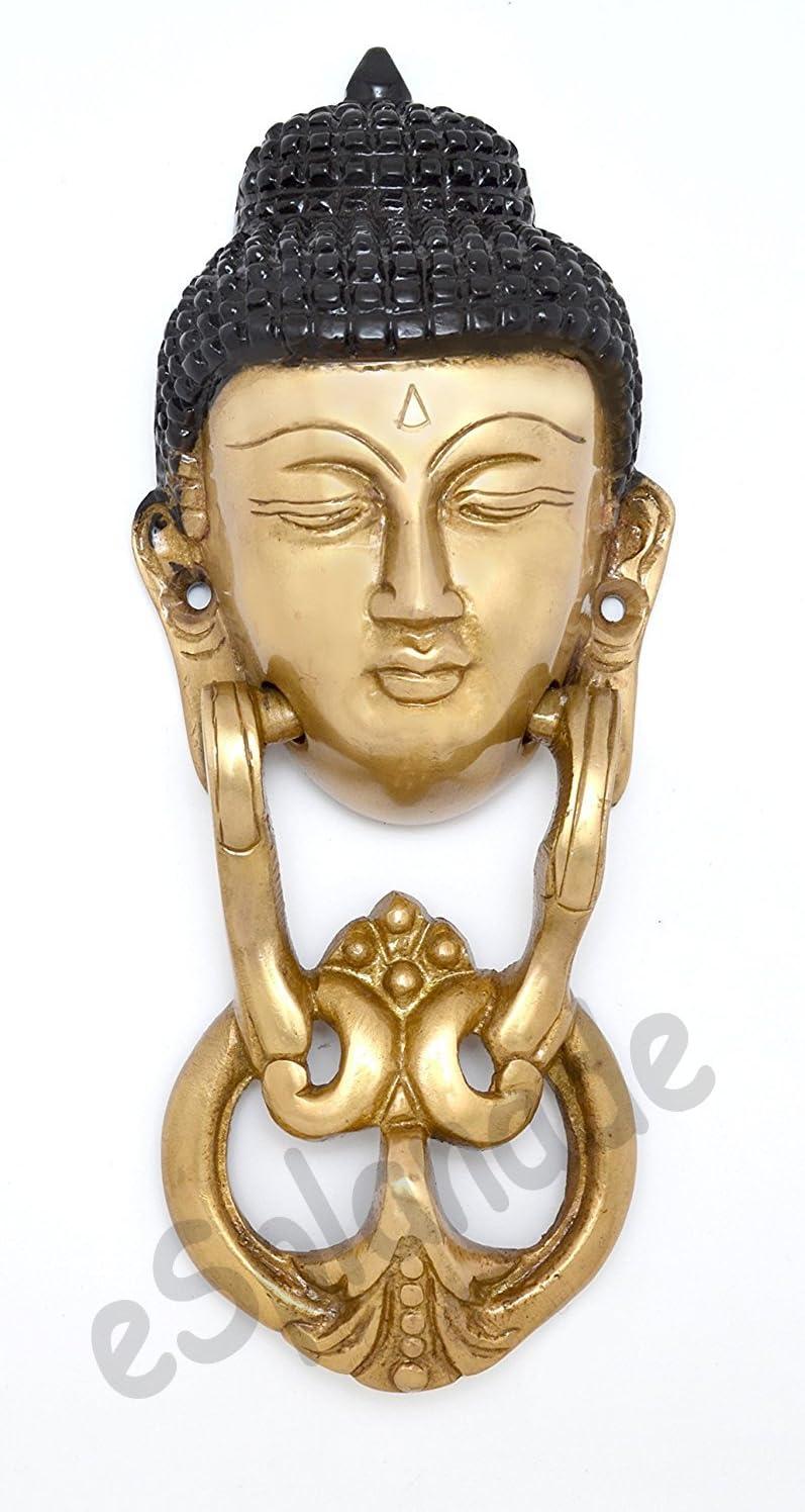 eSplanade Zahlungs-Management Bronzepferdekaninchen-Ren-Elefantklopfer Buddha Mehrfarbig