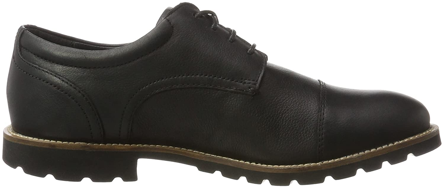 Rockport Modern Break Captoe Oxford, Zapatos Hombre, Negro (Black), 46 EU