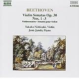 Violin Sonatas Op. 30 Nos 1-3 (Jando, Nishizaki)
