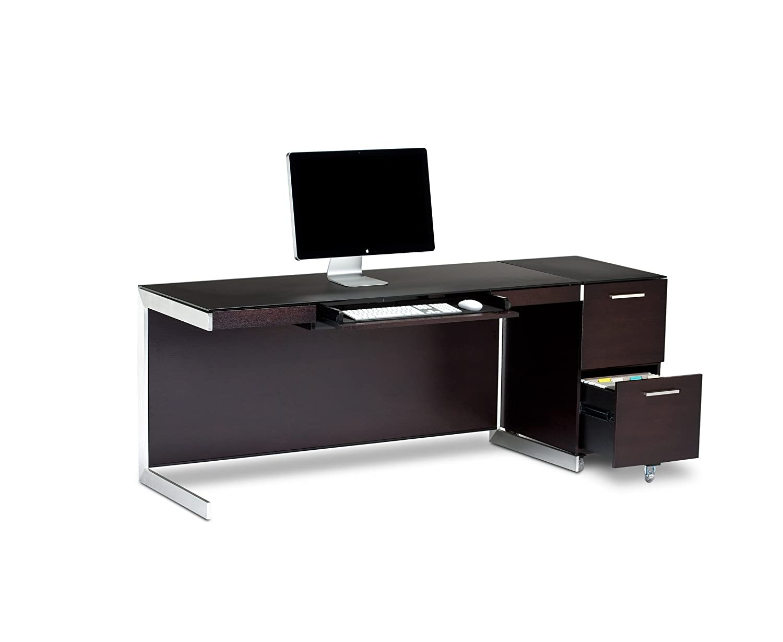 Amazoncom BDI Sequel Desk 6001 Espresso Stained Oak Home