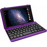 "RCA Voyager PRO 7"" Tablet 16GB Quad Core includes Keyboard / Case - Purple"