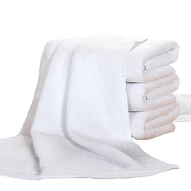 Algodón Hoteles Pensiones Salones De Belleza Blancas Toallas Especiales 150 Gramos, White-34 * 75: Amazon.es: Ropa y accesorios
