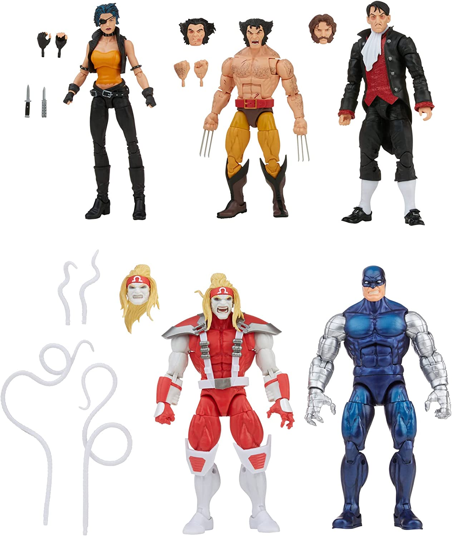 HASBRO : Marvel Legends - Wolverine vs. Villains 5-Pack - Amazon Exclusive 2021 713RkJxuyES._AC_SL1500_