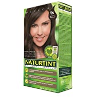 Naturtint Permanent Hair Color, 4N Natural Chestnut, Plant Enriched, Ammonia Free...