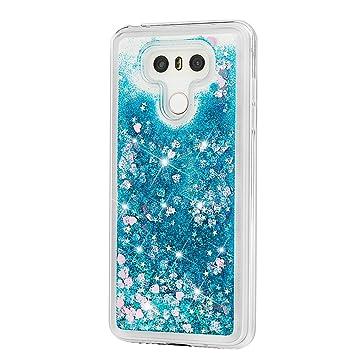 SEBOM Carcasa líquida para LG G6, Transparente, a la Moda ...
