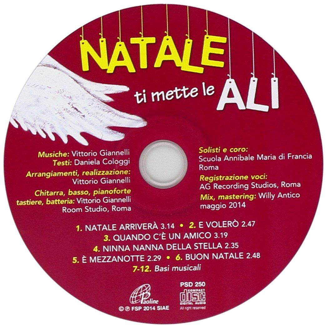 Natale Ti Mette Le Ali.Natale Ti Mette Le Ali Cd By Aa Vv Amazon Co Uk Music
