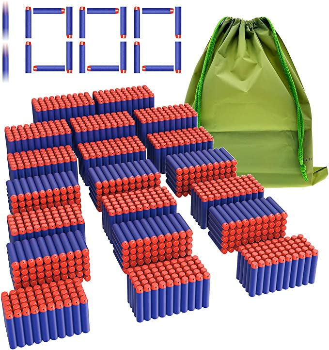 100pcs Clip Refill Darts Pack for Elite Kids Toy Refill Blasters