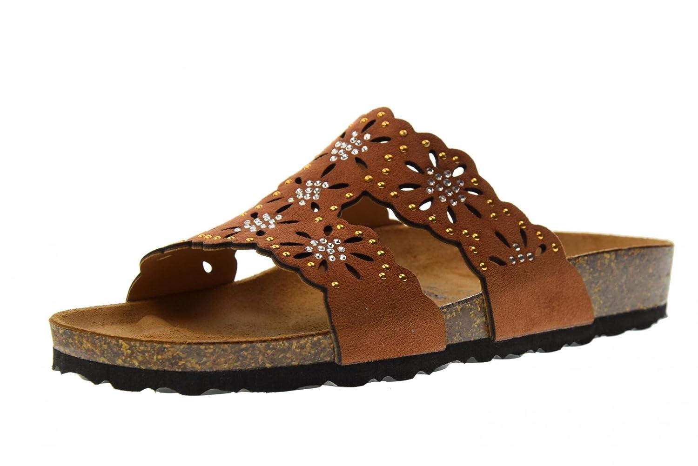 GOLDSTAR Zapatos Mujer Sandalias Zapatillas 1859MB Cuoio 40 EU|Cuero