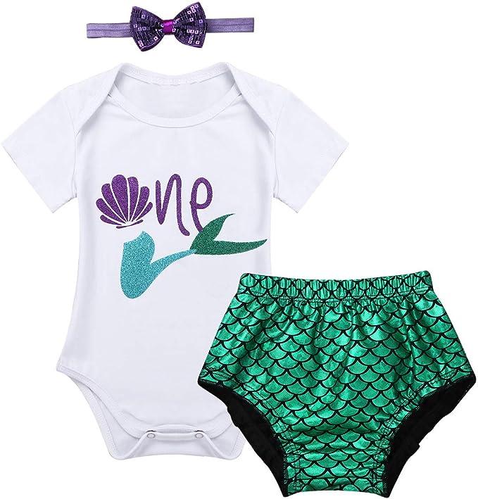 inlzdz Conjunto para Bebé Niñas Primer Cumpleaños Disfraz de ...