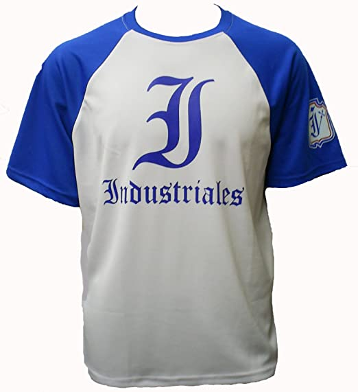 d0fed2784 PO INDUSTRIALES DE Cuba Baseball Dry-Fit (XXL, White-Blue) at Amazon ...