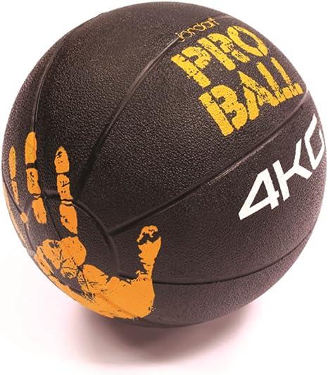 Jordan Pro balón medicinal 4 kg (negro/naranja): Amazon.es ...