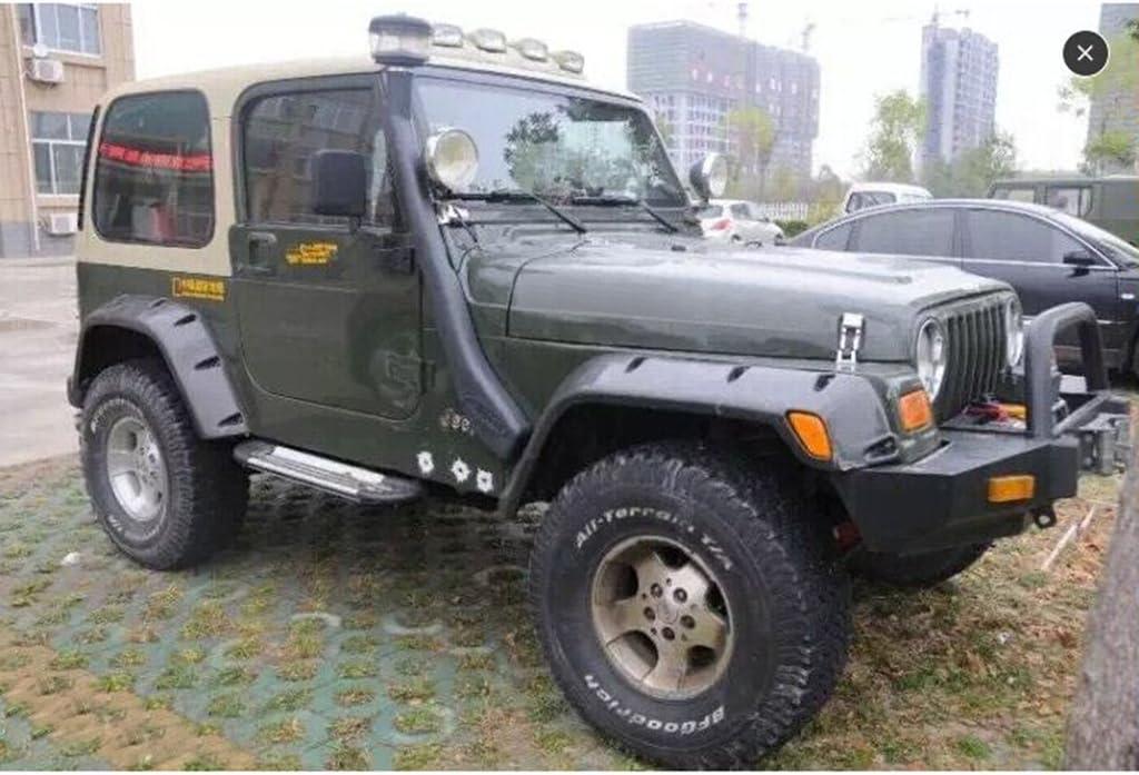 Wotefusi Paire De Marchepieds Bars pour 007-16 Jeep Wrangler 2 Portes