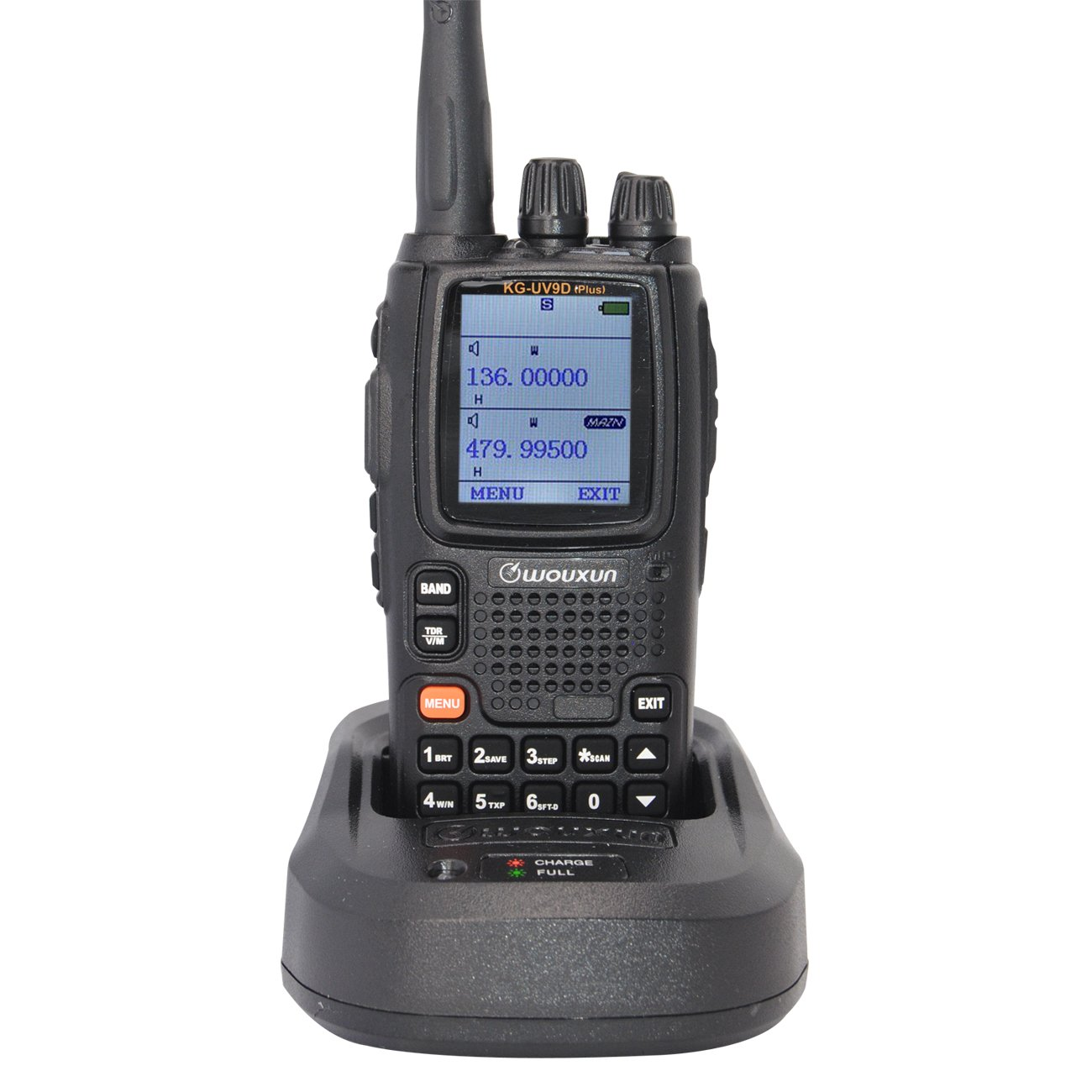 Walkie Talkie Long Range Rechargeable KG-UV9D Plus Dual Band VHF UHF Radio Transceiver with Earpiece and Programming Cable Easy Communications(H.K)Co. Ltd.