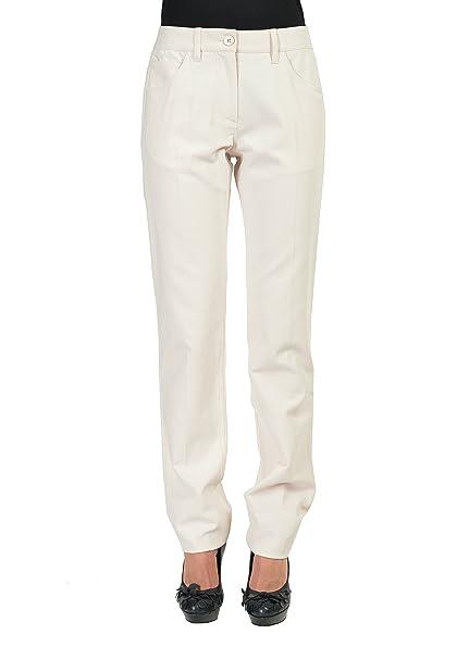 the latest b788a 57455 Maison Martin Margiela Ivory Women's Casual Pants US 6 IT 42 ...