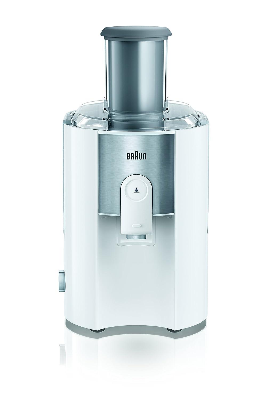 Braun J500 Exprimidora de zumos, 900 W, 1.25 L, 2 velocidades, acero y plástico, color blanco: Amazon.es: Hogar