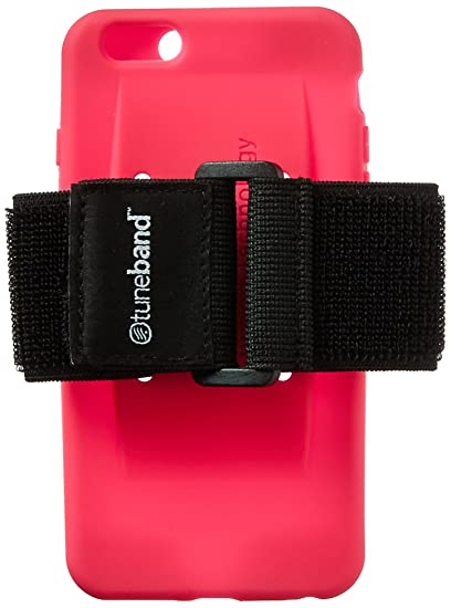 new product 4c238 a8b01 TuneBand for iPhone 6 Plus and iPhone 6S Plus, Premium Sports Armband with  Two Straps and Two Screen Protectors, Pink