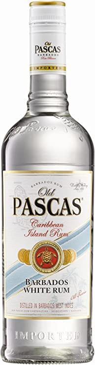 Old Pascas Old Pascas Barbados White Rum 37,5% Vol. 0,7L ...