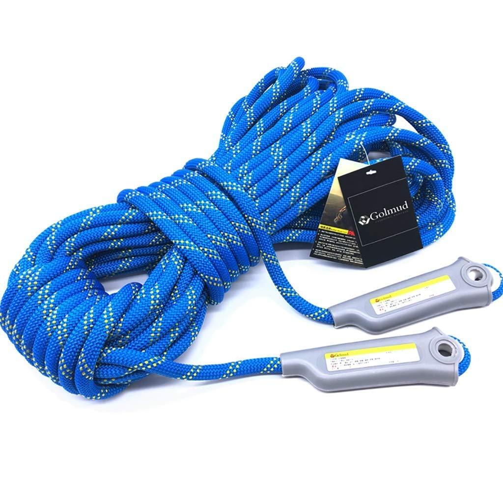 SCJ Cordes Corde d'escalade extérieure, Corde de sécurité de 12   11mm, Corde de Rappel, Corde d'escalade, équipement d'évacuation de Corde de Nylon, 30m   20m   15m   10m   5m (Taille  11mm-10m 12mm-20m