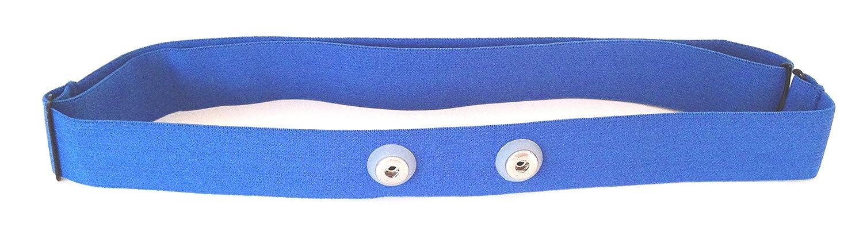Repuesto Soft strap Azul–Blue Pecho Correa de tamaño M XXL–Polar para los modelos GO-SHOPPING24