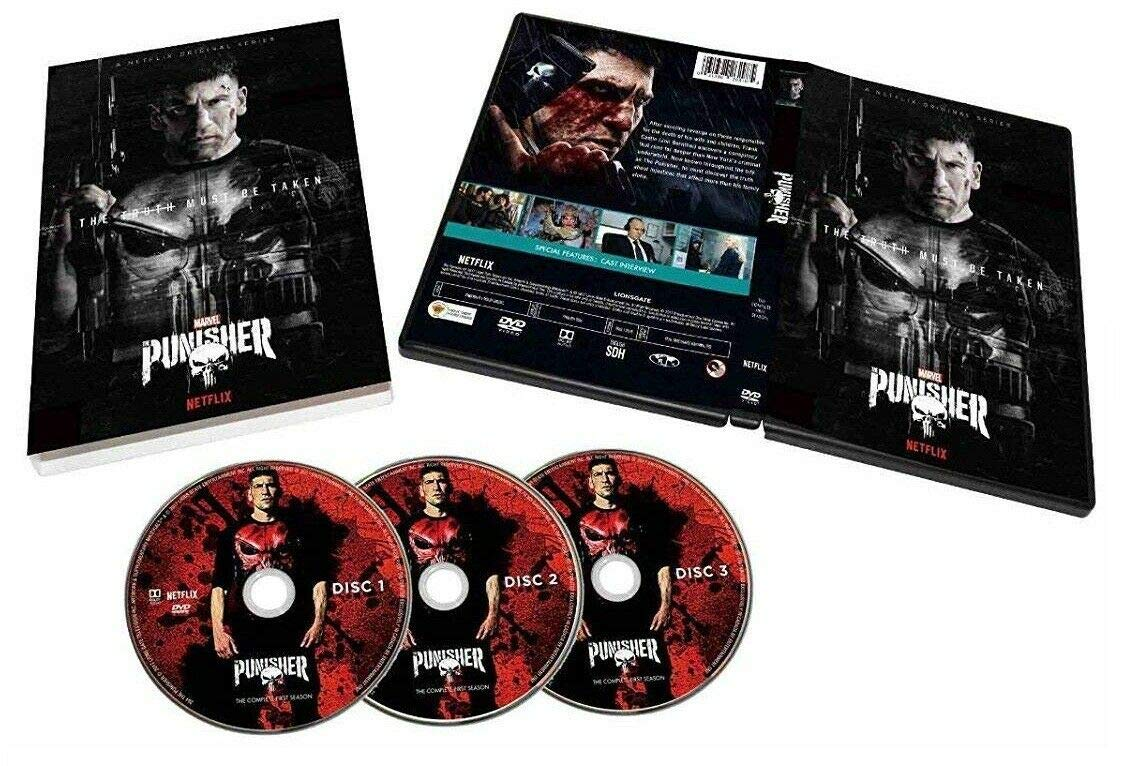 The Punisher Seasons 1 & 2 DVD 6 Disc Set