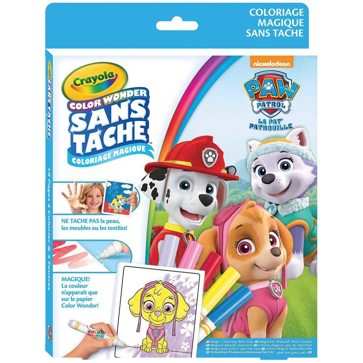 Crayola Color Wonder 5100 Kit Pat Patrouille Amazon Jeux et Jouets