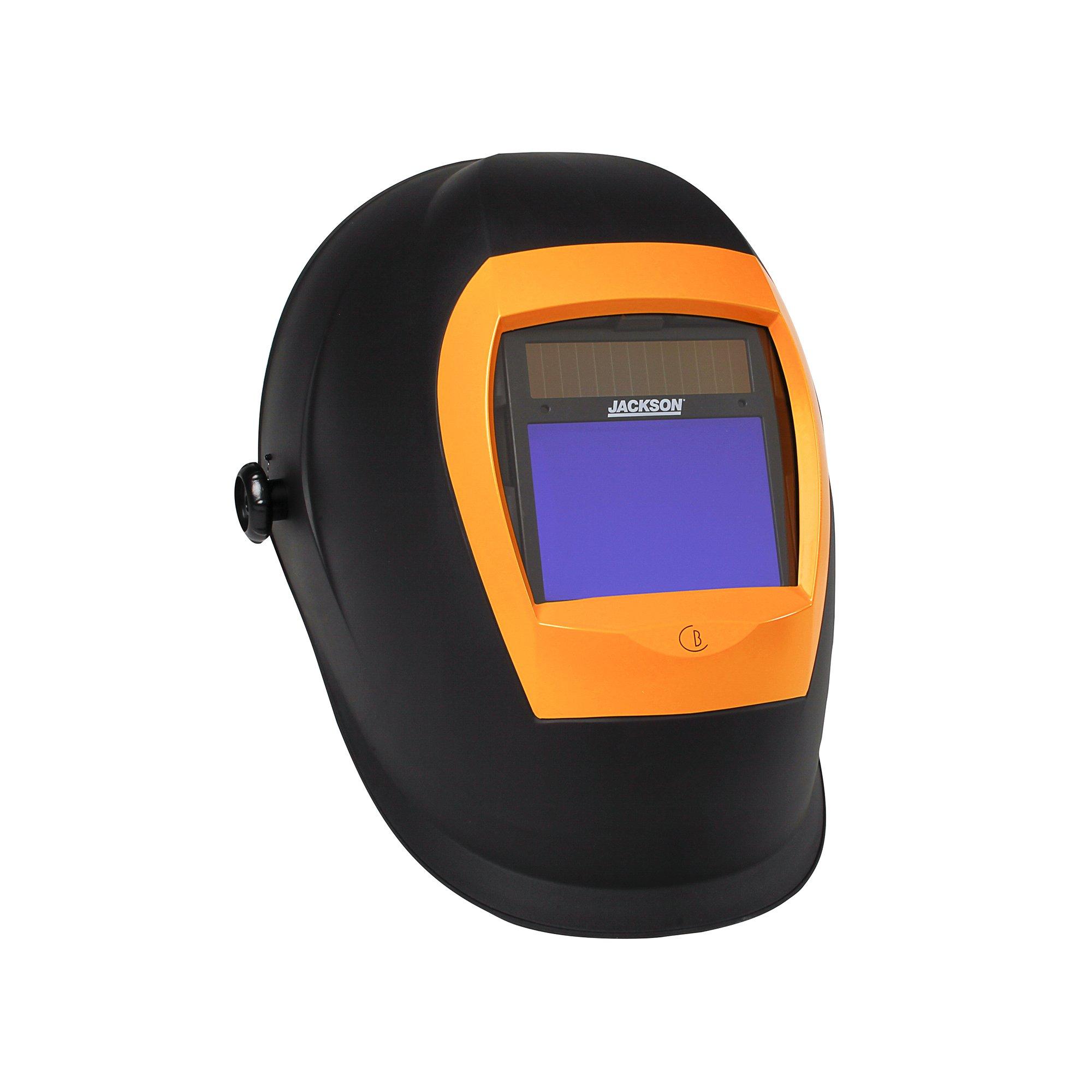 Jackson Safety BH3 Auto Darkening Welding Helmet with Balder Technology (46157), Black