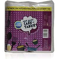 Care Mate Tissues - Kitchen Rolls, 2 Ply Pack