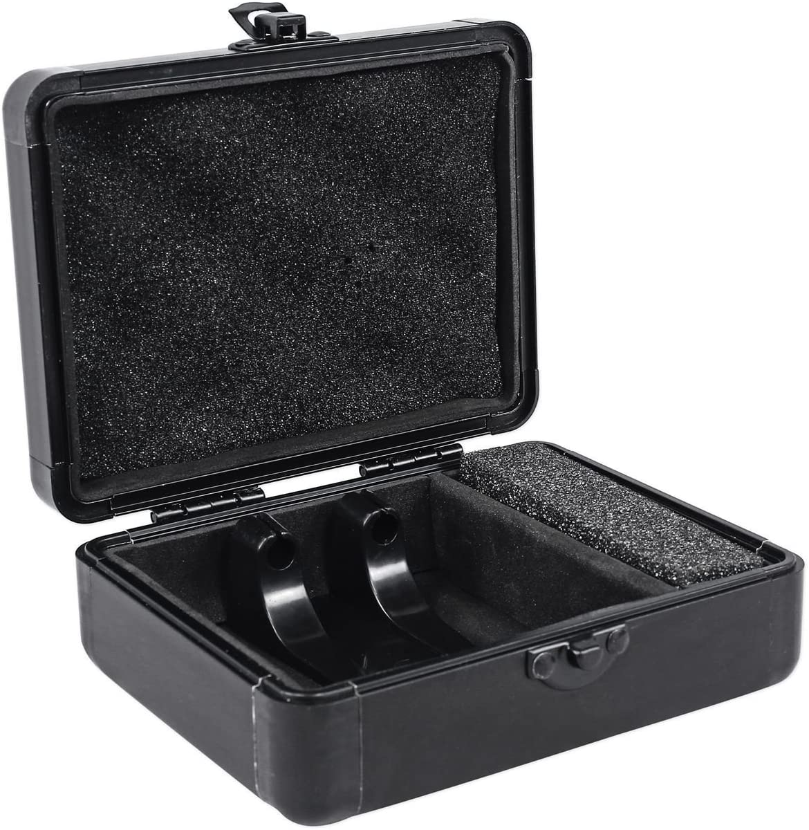 Odyssey KCC2PR2BL KROM PRO2 2x Turntable Needle Cartridge Travel Cases Black 2
