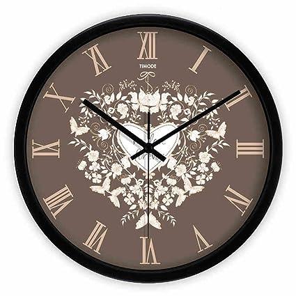 creativo Reloj De Pared Silencio Europea Sala De Arte Grandes Relojes Y Relojes Creative Fashion Pastoral