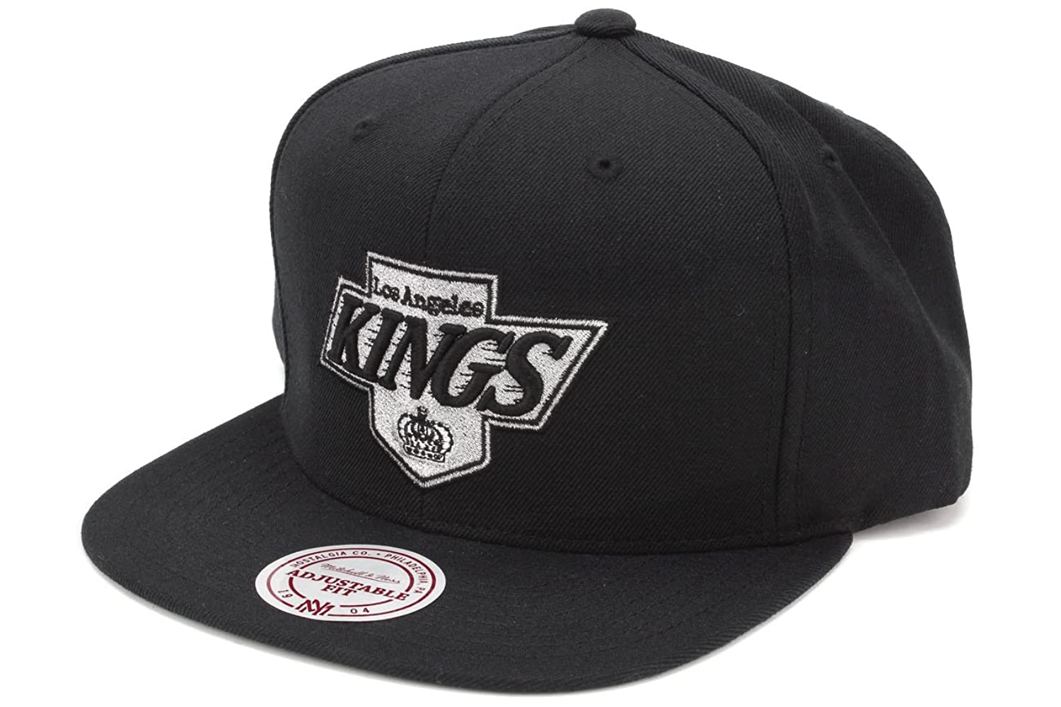 timeless design 3dce7 58ebe ... switzerland mitchell ness mens the los angeles kings logo snapback hat  5177a e8b8a