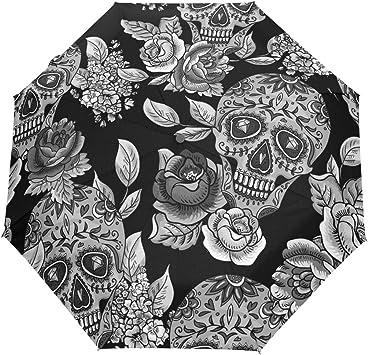 Parapluie tête de mort 10