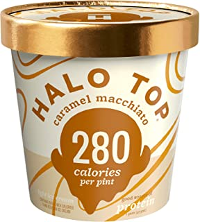 product image for Halo Top, Caramel Macchiato Ice Cream, Pint (4 Count)